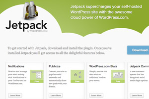 Wordpress plugins en Jetpack